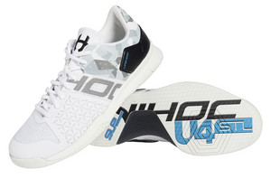 Unihoc U4 STL LowCut Men white/camo Indoor shoes