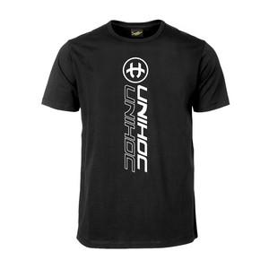 Unihoc T-shirt Player 120 cm, černá