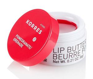 Korres Lip Butter 6g, Pomegranate