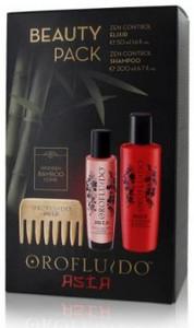 Revlon Professional Orofluido Asia Beauty Pack Shampoo + Elixir + Wooden bamboo Comb