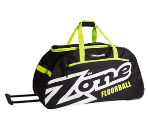 Zone floorball EYECATCHER large with wheels Športová taška s kolieskami