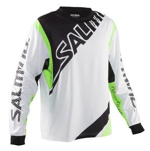 Salming Phoenix JR 164 cm bílá / zelená
