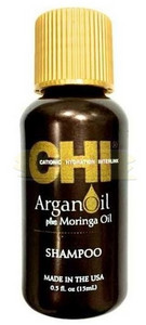 Šampon s Argan a Moringa olejem CHI Argan Oil Shampoo 15ml
