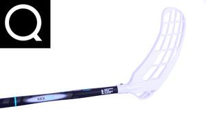 Salming Black KickZone 27 SMU černá Quest Pravá ruka níže 100cm (=110cm)