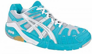 Asics Gel-Cyber Power W modrá / bílá Žena UK 7 | US 9 | EU 40,5