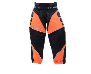 Brankářské kalhoty Unihoc Summit `16 L černá / neonově oranžová