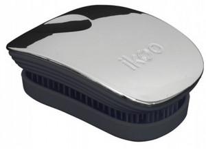 IKOO Metallic Collection Pocket Brush ústřice-černá