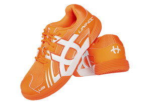 Unihoc U3 Speed Junior Unisex orange/white Sálová obuv
