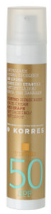 Korres Red Grape Tinted Sunscreen Face Cream SPF50 ttónovací opaľovací krém SPF 50