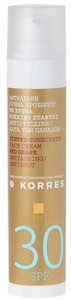Korres Red Grape Tinted Sunscreen Face Cream SPF 30 tónovaný opaľovací krém SPF 30
