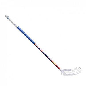 Salming Quest1 X-shaft KickZone TipCurve 3° modrá / bílá Levá (levá ruka níže) 100cm (=110cm)
