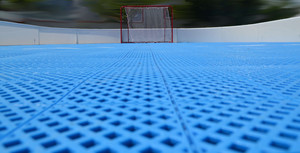 FLOORBEE Hangar floorball arena 28x16m Floorball Bande