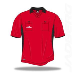 Rozhodcovský dres Jadberg Arbiter XL Červená Krátký rukáv