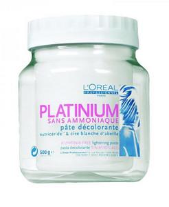 Odbarvující pasta LOREAL PLATINIUM bez amoniaku 500g