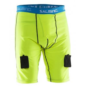 Salming Comp Jock Short Pant XL 140 cm žlutá / modrá