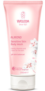 Weleda Almond Sensitive Skin Body Wash mandlový sprchový krém