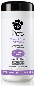 Vlhčené ubrúsky JOHN PAUL PET Tooth & Gum Wipes