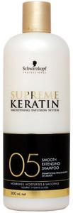Schwarzkopf Professional Supreme Keratin Smooth Extending Shampoo 05 300ml