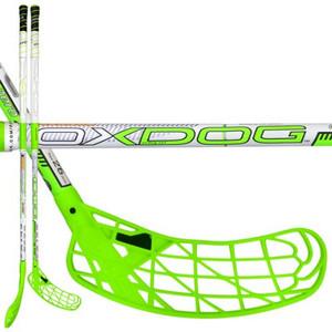 OxDog Zero 26 green 103 Oval bílá / zelená Levá ruka níže 103cm (=113cm)
