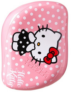 Tangle Teezer Compact Styler Hello Kitty Pink/White Bílo-růžová
