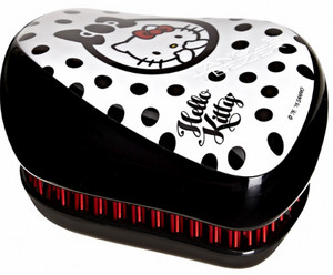 Tangle Teezer Compact Styler Hello Kitty Black/White Černo-bílá