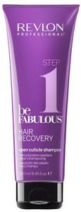 Revlon Professional Be Fabulous Recovery Step 1 Open Cuticle Shampoo 250ml