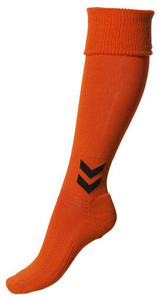 Štulpny Hummel Spain oranžová / černá 14 (46-48)