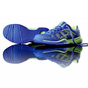 Salming Viper 3 Kid Laces Royal/GeckoGreen modrá / zelená 24.0cm / UK4.5 / US5.0 / 37 1/3 EU