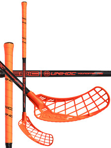 Unihoc EPIC Youngster 36 neon orange/black Florbalová hokejka