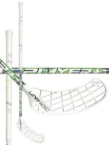 Unihoc PLAYER+ Curve 2.0º 26 white/neon green bílá / neonově zelená Levá ruka níže 100cm (=110cm)