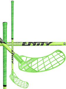 Unihoc UNITY Curve 1.5º 35 neon green/black Floorbal stick
