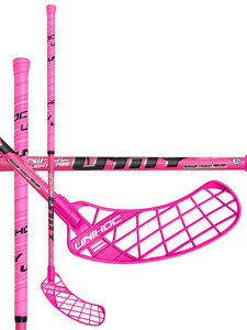 Unihoc UNITY Top Light II 29 cerise/black Florbalová hokejka