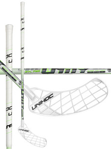 Unihoc UNITY STL 26 white/neon green Floorbal stick