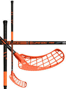 Unihoc EPIC 29 black/orange Florbalová hokejka