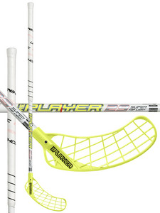 Unihoc REPLAYER STL 29 white/neon yellow Florbalová hokejka