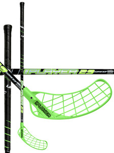 Unihoc REPLAYER Curve 2.0º 29 black/neon green černá / neonově zelená Levá ruka níže 100cm (=110cm), tester - bez obalu