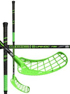 Unihoc EPIC 32 black / neon green černá / neonově zelená Levá (levá ruka níže) 87cm (=97cm)