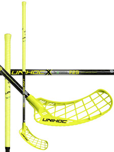 Unihoc EPIC TeXtreme Feather Light 29 neon yellow/black Florbalová hokejka
