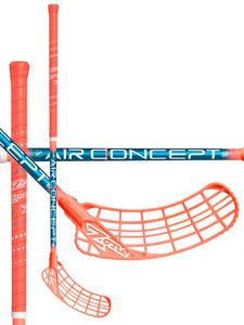 Zone floorball ZUPER AIR 31 coral/turquoise Florbalová hokejka