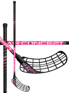 Zone floorball ZUPER AIR Superlight 27 black/pink Floorbal stick