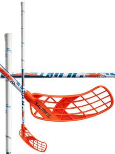 Salming Quest5 X-shaft KickZone TipCurve 3° bílá / modrá Levá ruka níže 96cm (=106cm)