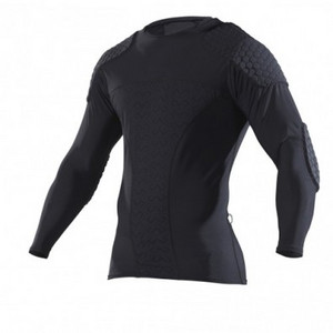 McDavid 7738 LONG SLEEVE HEX™ GOALKEEPER SHIRT DIVE IT Kompresné triko