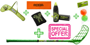 Zone floorball Piraya set Floorball stick Zone with accessories