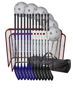 Necy Pearl Teamgoal set Floorball set