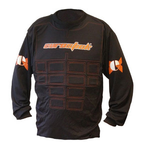 Necy Goalie shirt with front padding Goalkeeper jersey