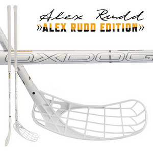 OxDog ZERO RUDD 29 92 white ROUND NB Floorball stick