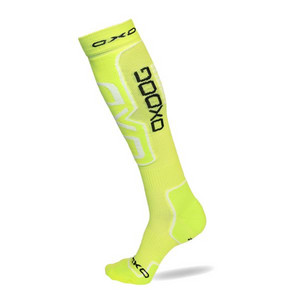 OxDog Compress Socks neon yellow Kompresné štulpne