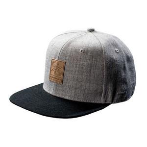 OxDog Flat Brim Cap šedá / černá