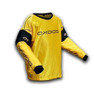OxDog BLOCKER GOALIE SHIRT junior orange/black Brankářský dres