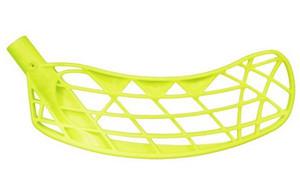 Florbalová čepel Exel Mega 2.0 Střední Pravá ruka níže Žlutá